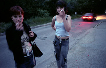 Sex Trafficking in Eastern Europe © Mimi Chakarova, 2005