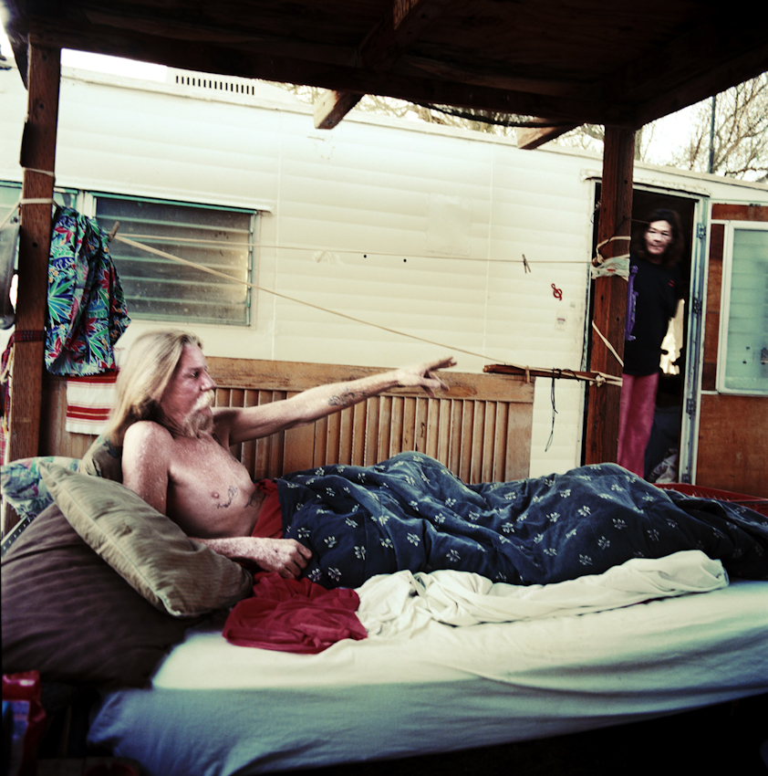 Selections from The Downtown East Side and Slab City © Claire Martin