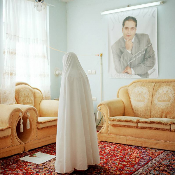 "Olivia Arthur Midday Prayers, Teheran. Out of the series ""The Middle Distance"", 2007"